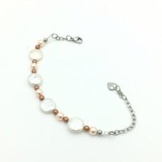 """Bracelet """"Peach complexion"""""""